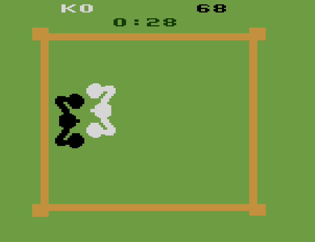 TheTrickster: Boxing: Game 1BB [Point Difference at Time Complete] (Atari 2600 Emulated) 32 points on 2016-06-26 06:08:20