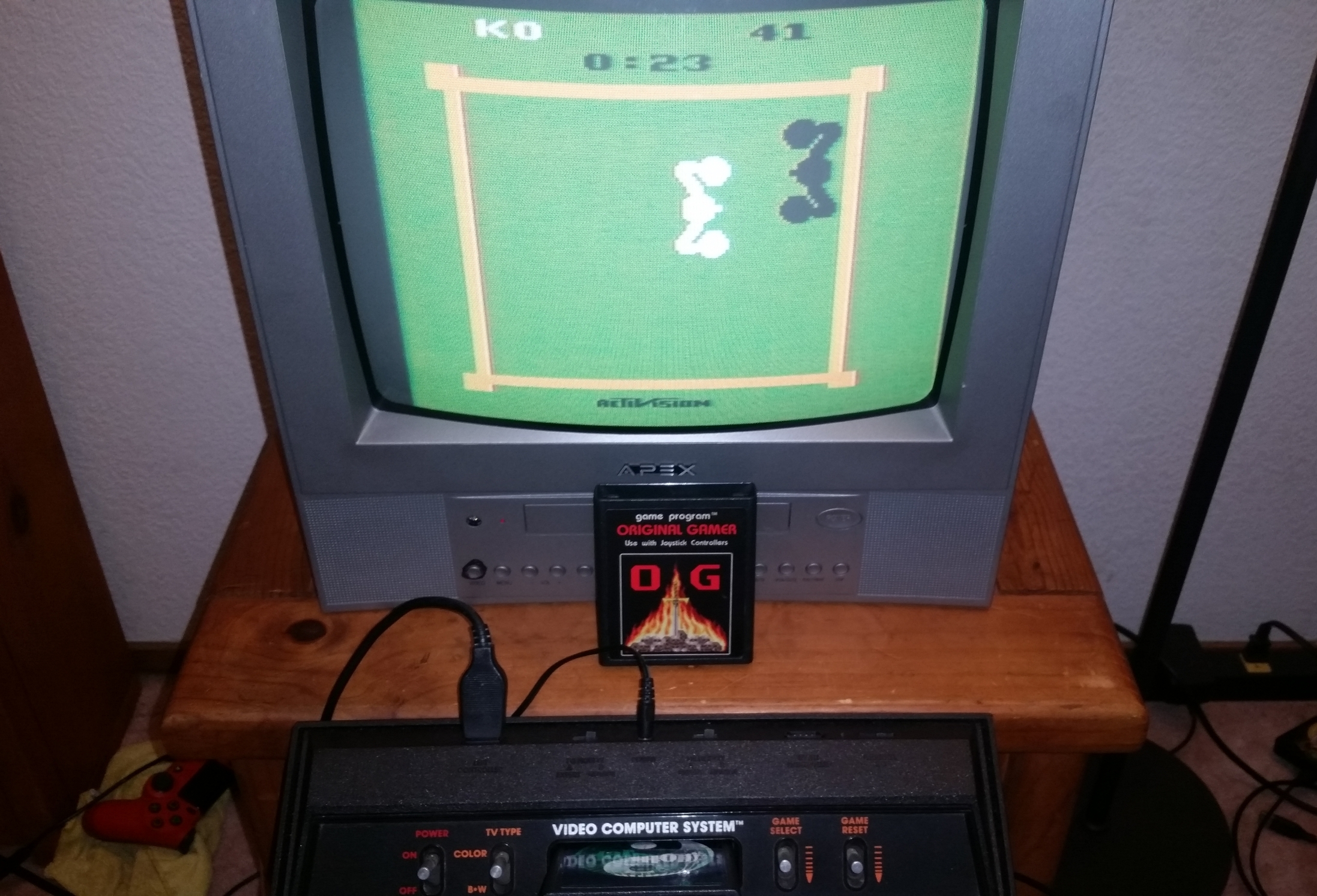 OriginalGamer: Boxing: Game 1BB [Point Difference at Time Complete] (Atari 2600) 59 points on 2018-01-07 04:16:06