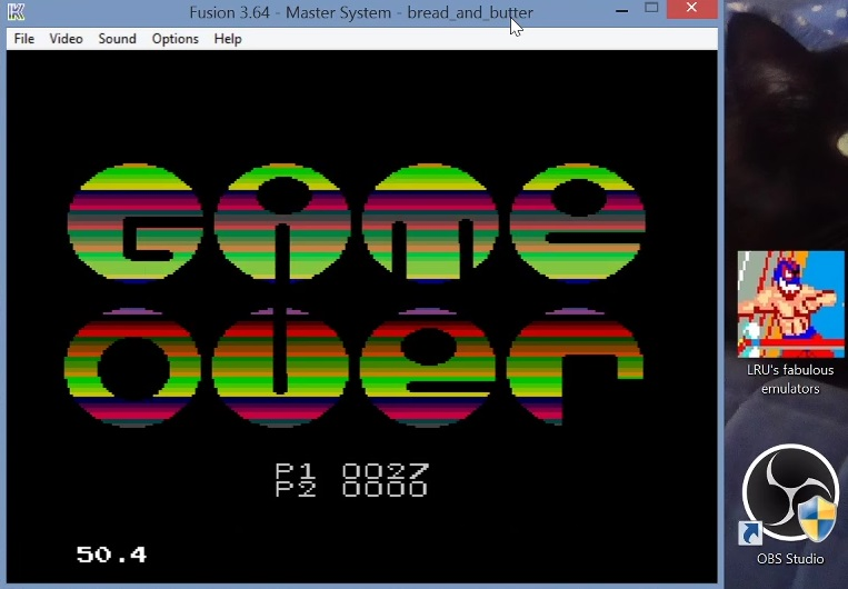 LuigiRuffolo: Bread and Butter (Sega Master System Emulated) 27 points on 2021-01-23 05:35:50