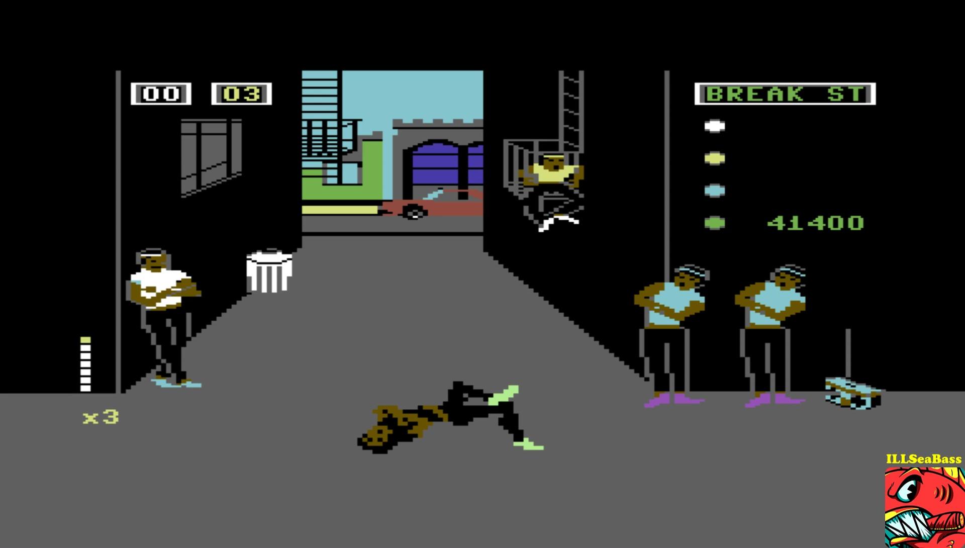 ILLSeaBass: Break Street (Commodore 64 Emulated) 41,400 points on 2017-05-19 18:54:01