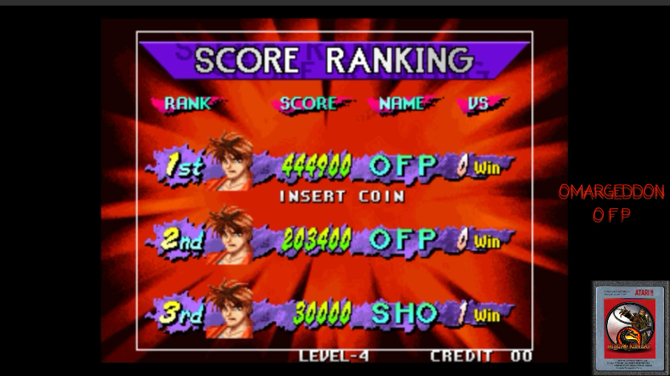 omargeddon: Breakers (Arcade Emulated / M.A.M.E.) 444,900 points on 2017-05-05 00:35:34