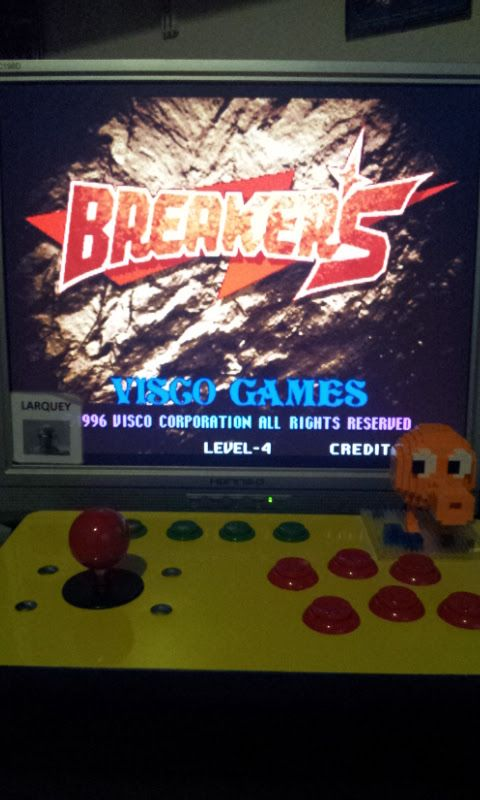 Breakers 205,700 points