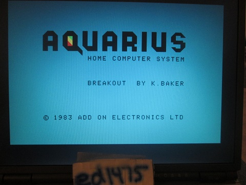 ed1475: Breakout (Aquarius Emulated) 4,360 points on 2018-12-18 22:45:56