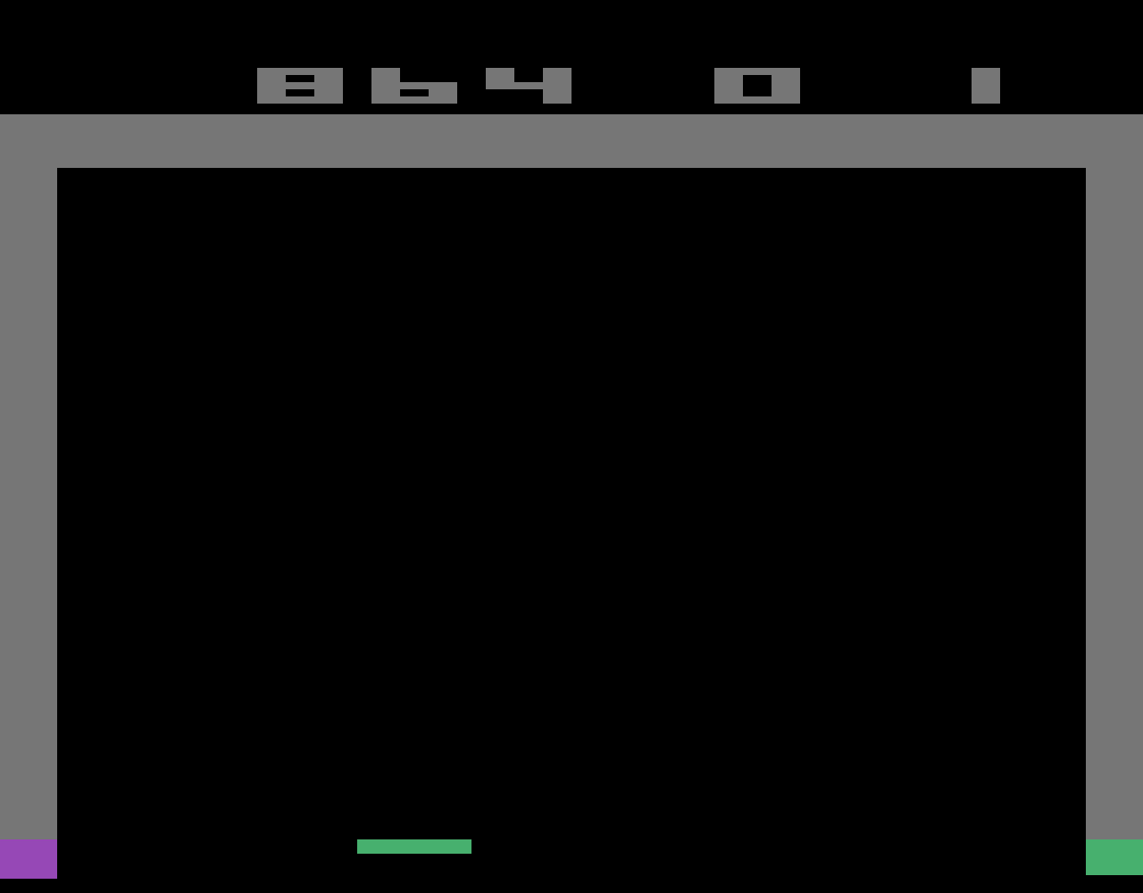 TheTrickster: Breakout: Game 1 (Atari 2600 Emulated Novice/B Mode) 864 points on 2016-06-11 08:44:22