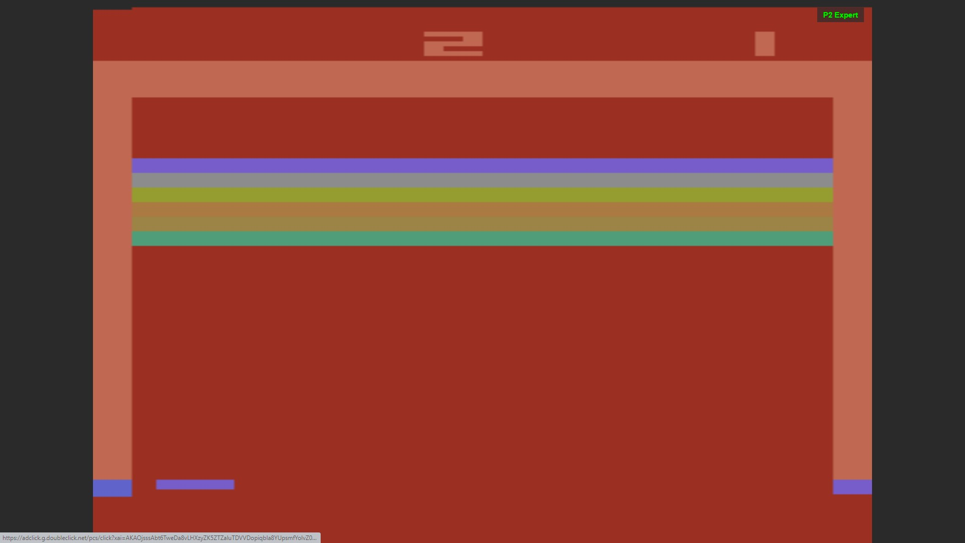 AkinNahtanoj: Breakout: Game 2 (Atari 2600 Emulated Expert/A Mode) 337 points on 2020-10-13 15:33:49