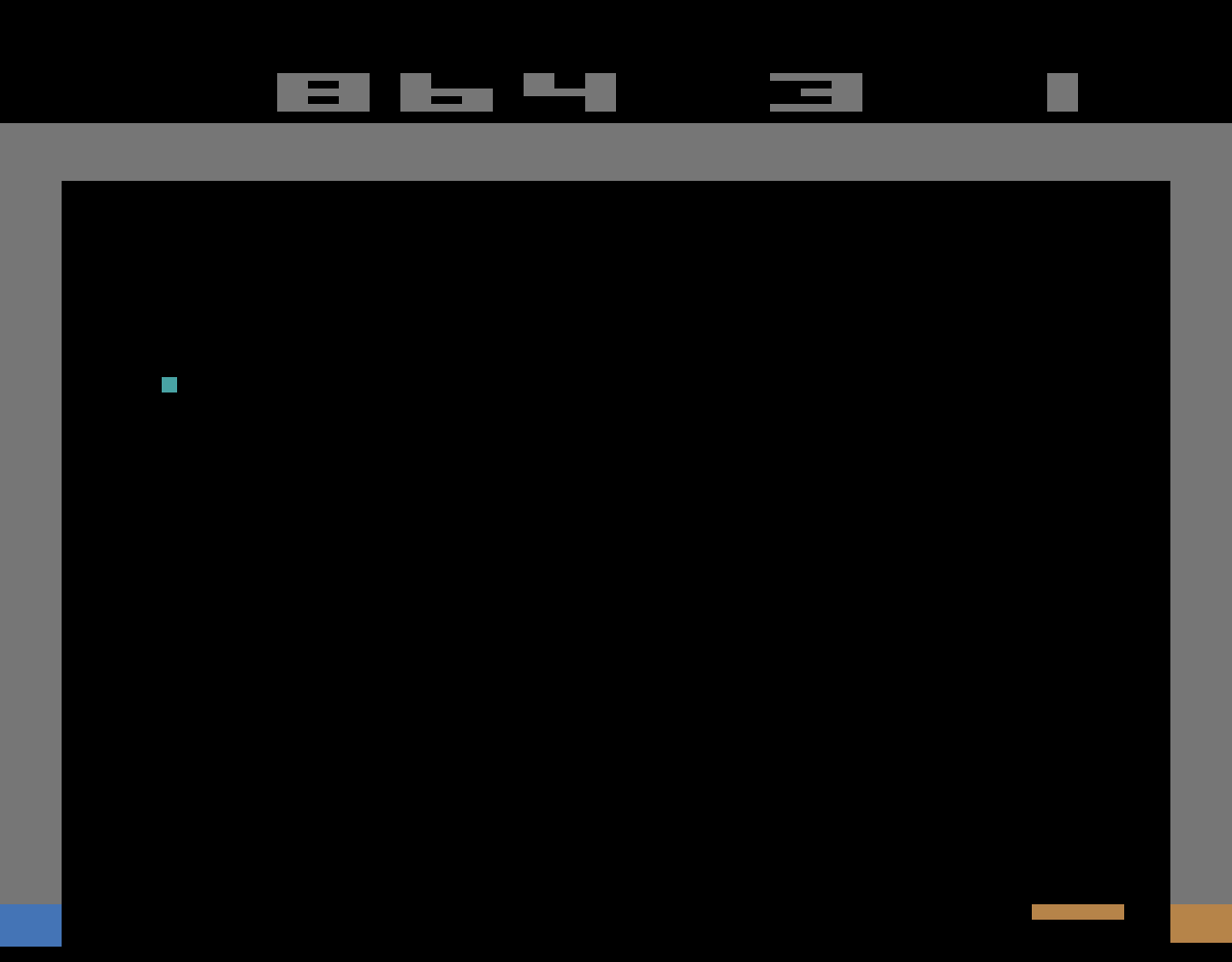 TheTrickster: Breakout: Game 2 (Atari 2600 Emulated Novice/B Mode) 864 points on 2016-06-12 06:27:05