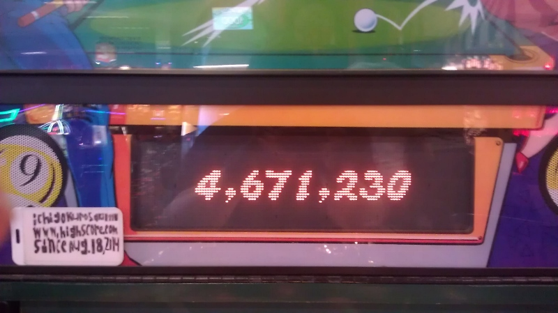 Breakshot 4,671,230 points