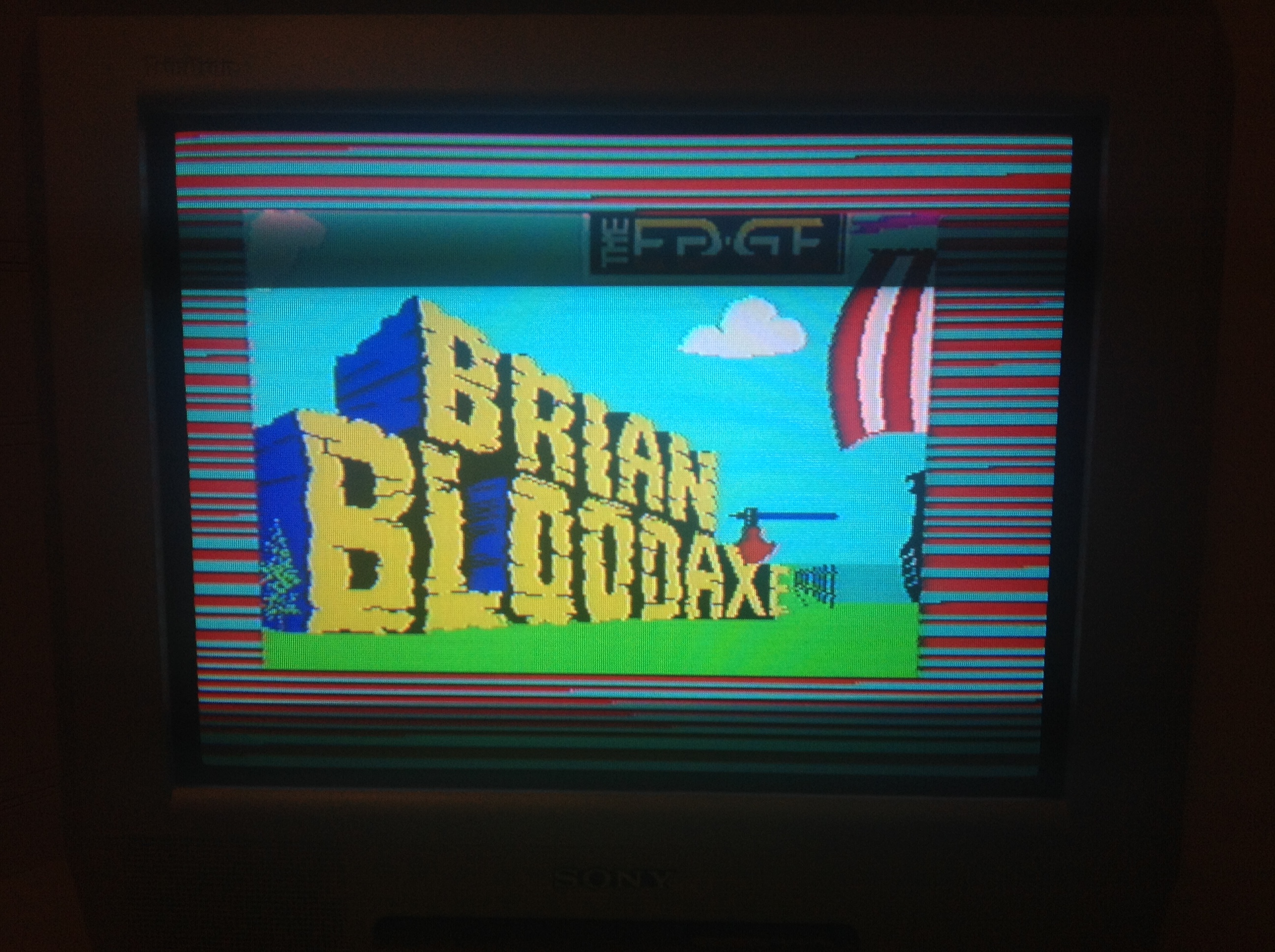 CoCoForest: Brian Bloodaxe (ZX Spectrum) 2,400 points on 2016-01-05 11:30:50