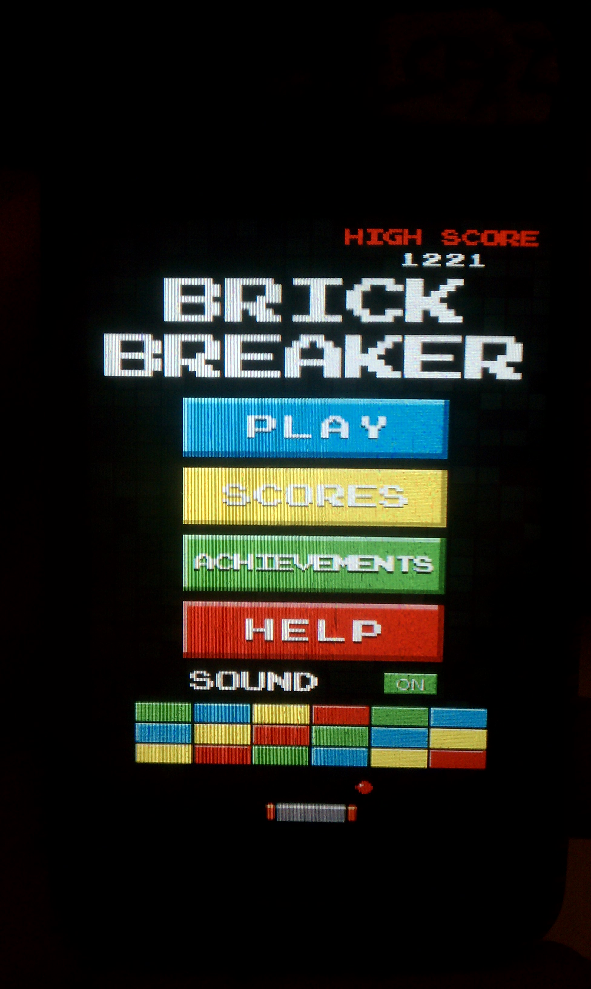 S.BAZ: Brick Breaker Arcade (Android) 1,221 points on 2016-04-05 17:18:26