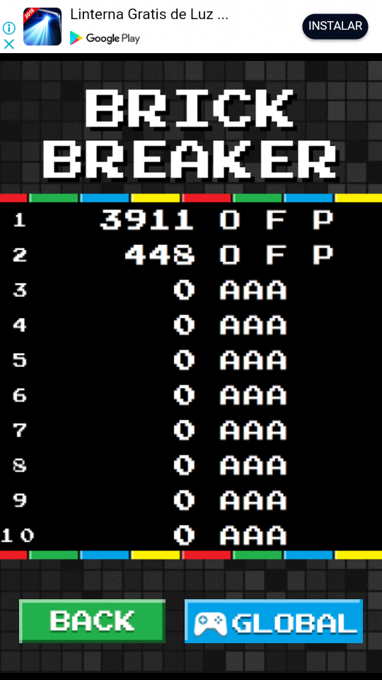 omargeddon: Brick Breaker Arcade (Android) 3,911 points on 2018-06-01 17:35:55
