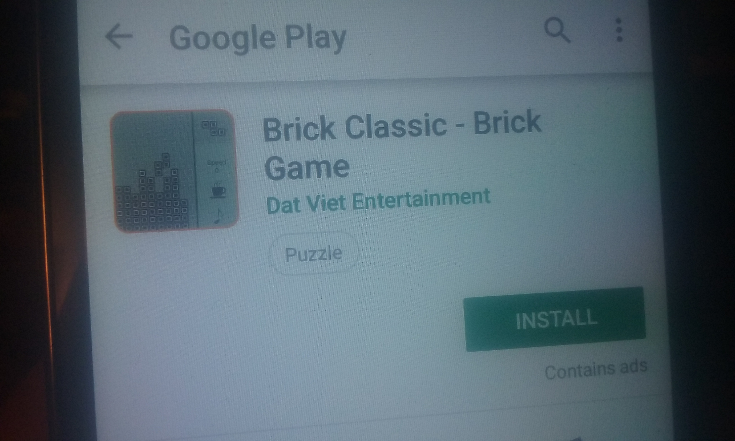 S.BAZ: Brick Classic: Brick Game (Android) 260 points on 2019-11-21 15:41:54