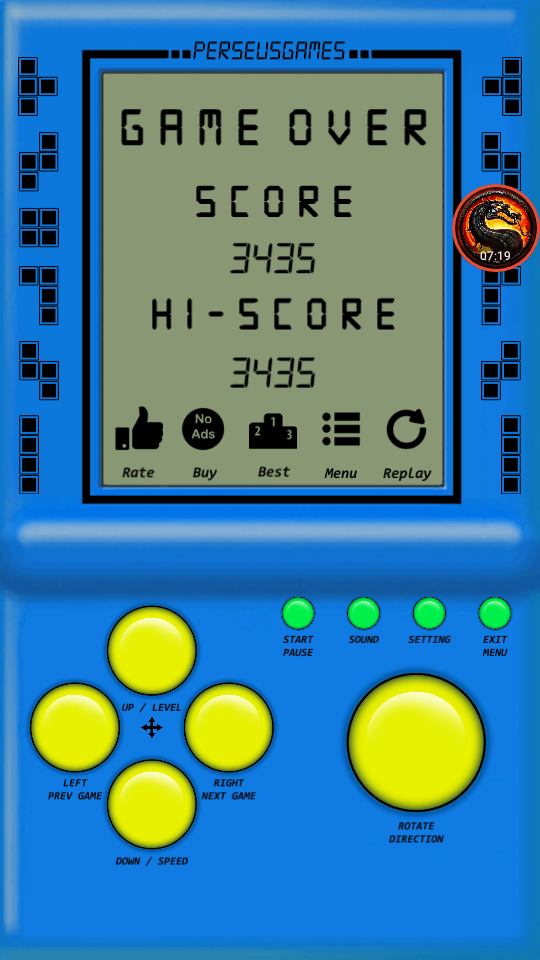 omargeddon: Brick Game: Game N (Android) 3,435 points on 2020-09-03 20:57:33