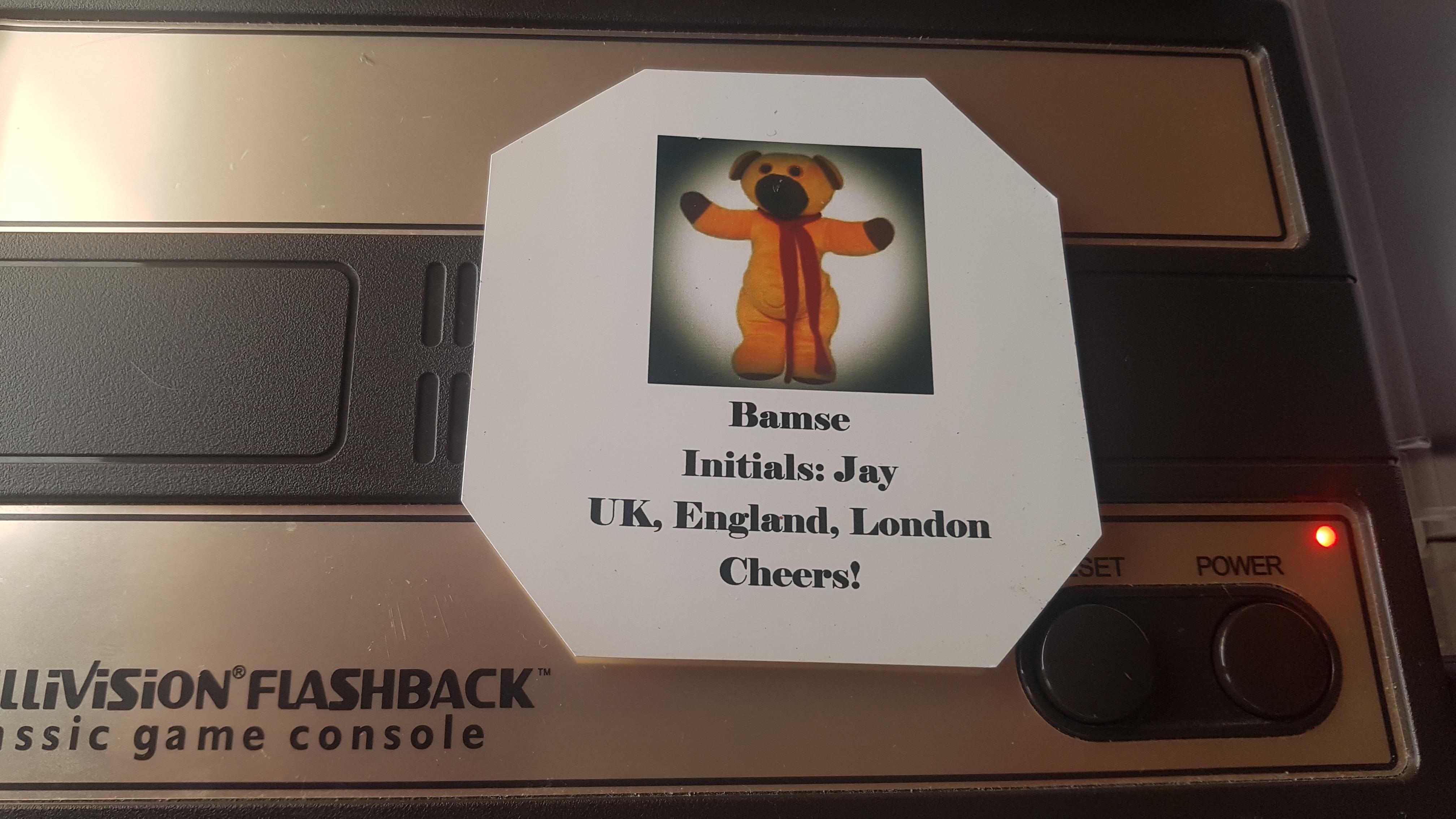 Bamse: Brickout (Intellivision Flashback) 638 points on 2019-02-14 07:24:35
