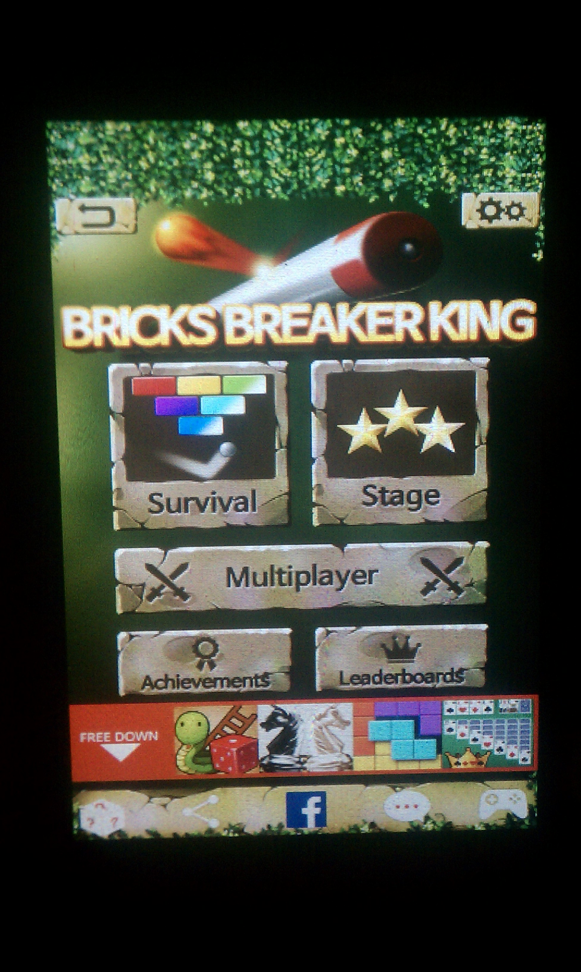 S.BAZ: Bricks Breaker King: Survival (Android) 7,800 points on 2016-02-04 01:03:10