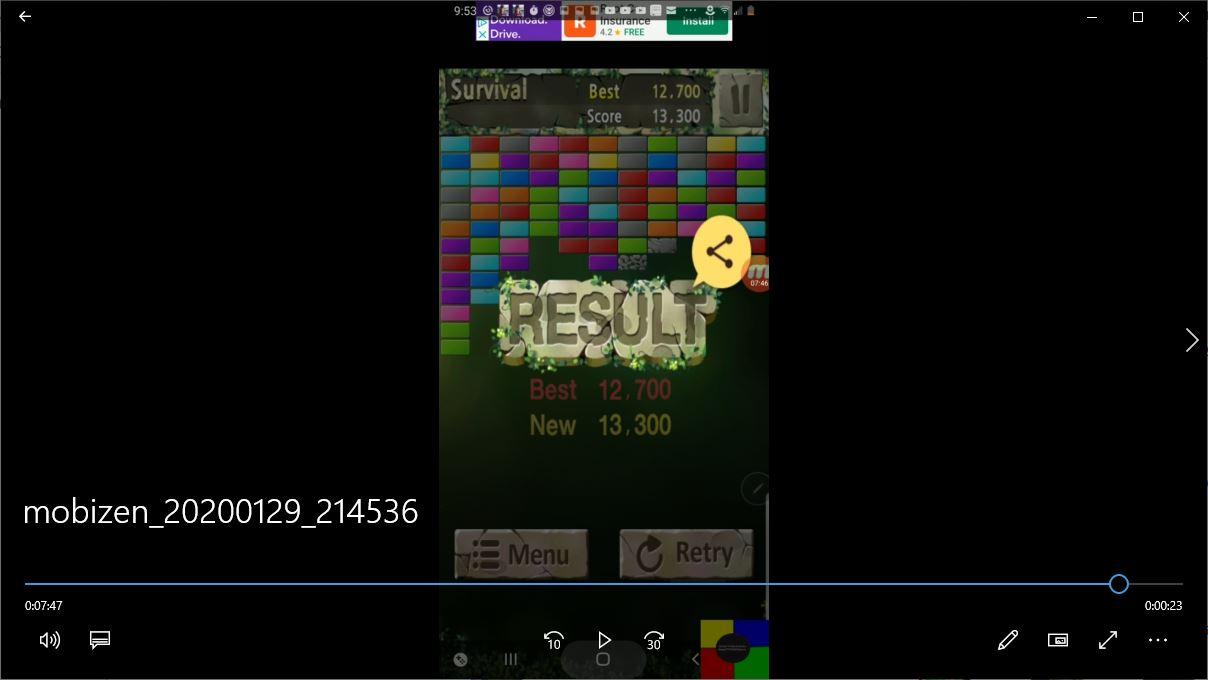 speedy4759123: Bricks Breaker King: Survival (Android) 13,300 points on 2020-01-30 08:46:03