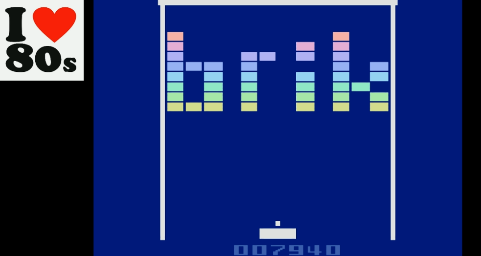 Giorvam: Brik (Atari 2600 Emulated) 7,940 points on 2018-02-13 07:16:33