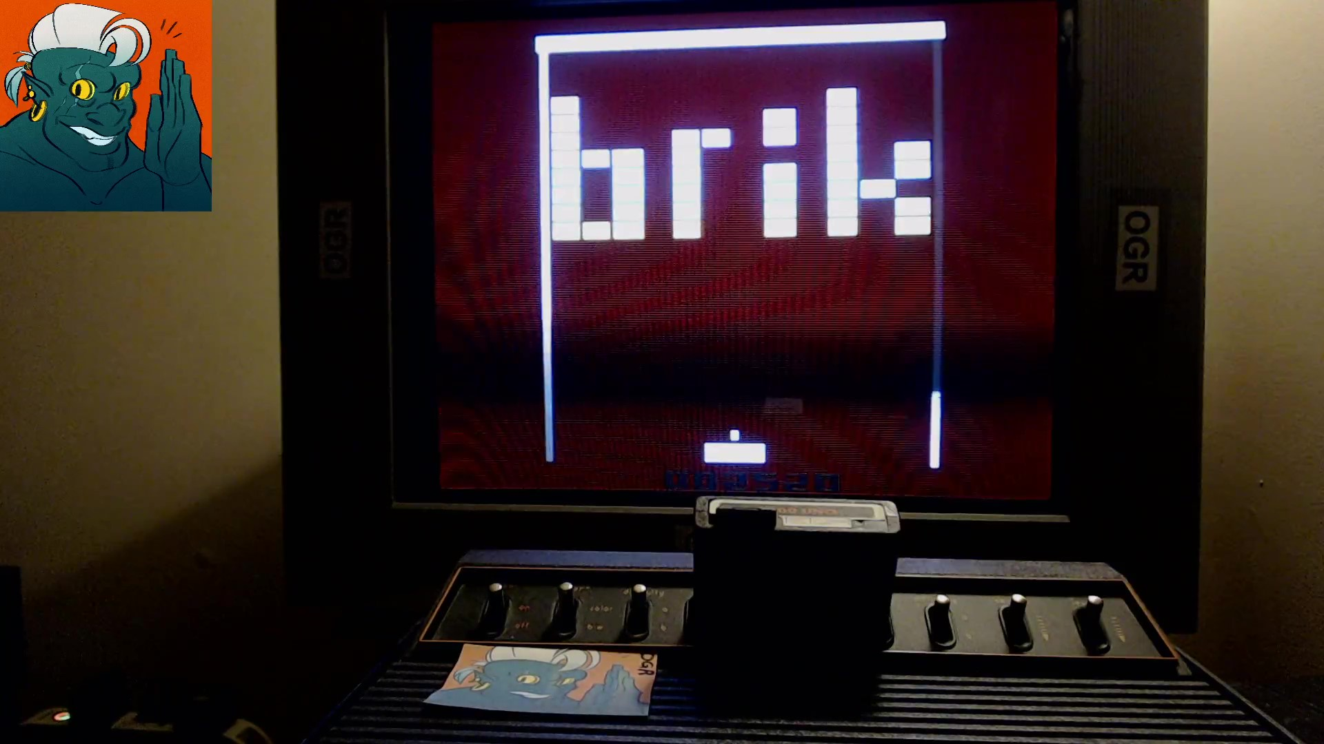 AwesomeOgre: Brik (Atari 2600) 2,520 points on 2019-10-16 20:54:21