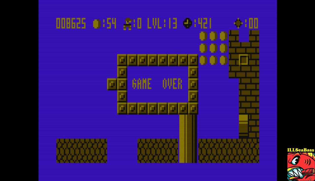 ILLSeaBass: Bros (Atari 400/800/XL/XE Emulated) 8,625 points on 2017-01-12 17:22:37