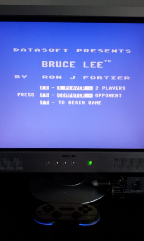 Larquey: Bruce Lee (Commodore 64 Emulated) 49,700 points on 2017-02-16 07:41:08