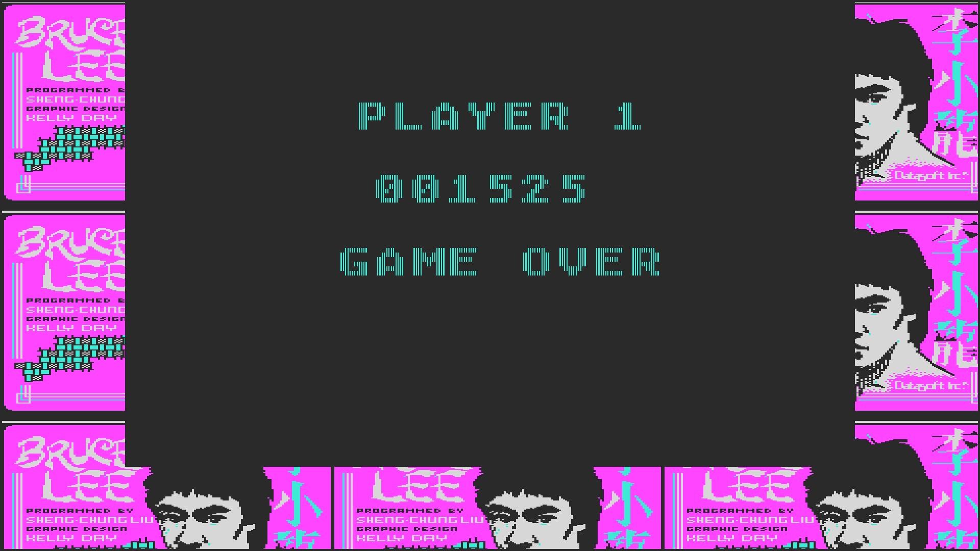 AkinNahtanoj: Bruce Lee (PC Emulated / DOSBox) 1,525 points on 2020-08-26 13:59:42