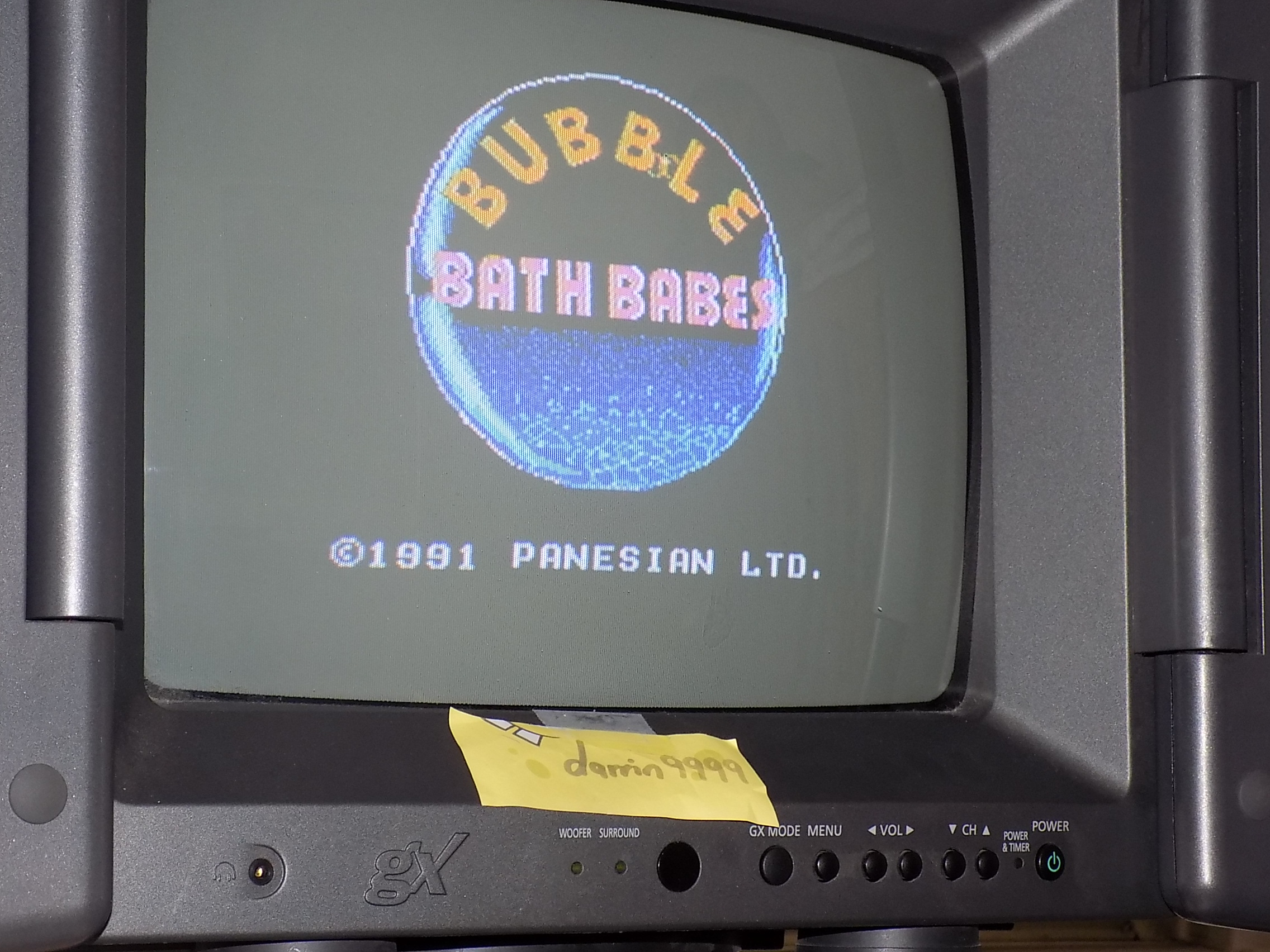 darrin9999: Bubble Bath Babes [Type A] (NES/Famicom) 11,546 points on 2018-02-04 09:39:54