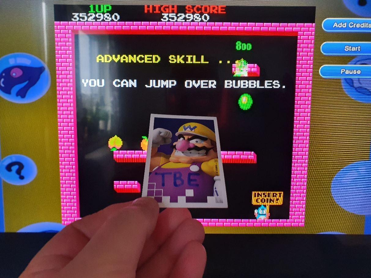 Sixx: Bubble Bobble 4 Friends: Arcade of Memories: Bubble Bobble (Nintendo Switch) 352,980 points on 2020-05-18 15:05:15