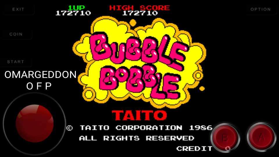 Bubble Bobble 172,710 points