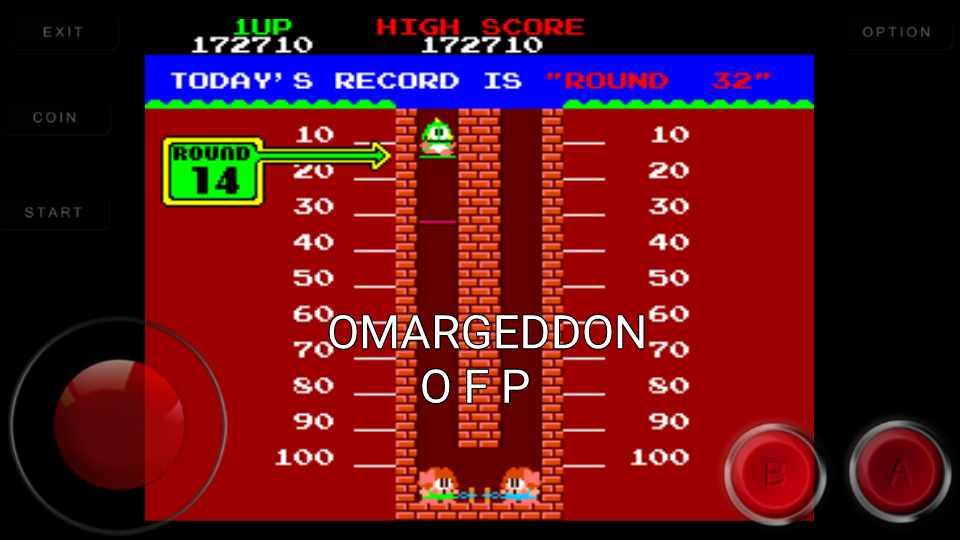 omargeddon: Bubble Bobble (Arcade Emulated / M.A.M.E.) 172,710 points on 2016-10-31 01:13:34