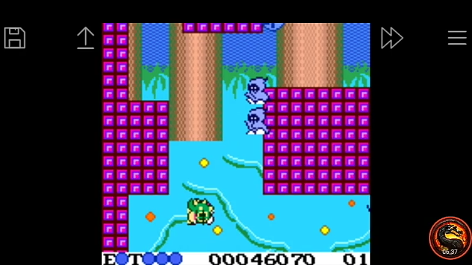 omargeddon: Bubble Bobble (Game Boy Color Emulated) 46,070 points on 2020-10-06 10:25:30