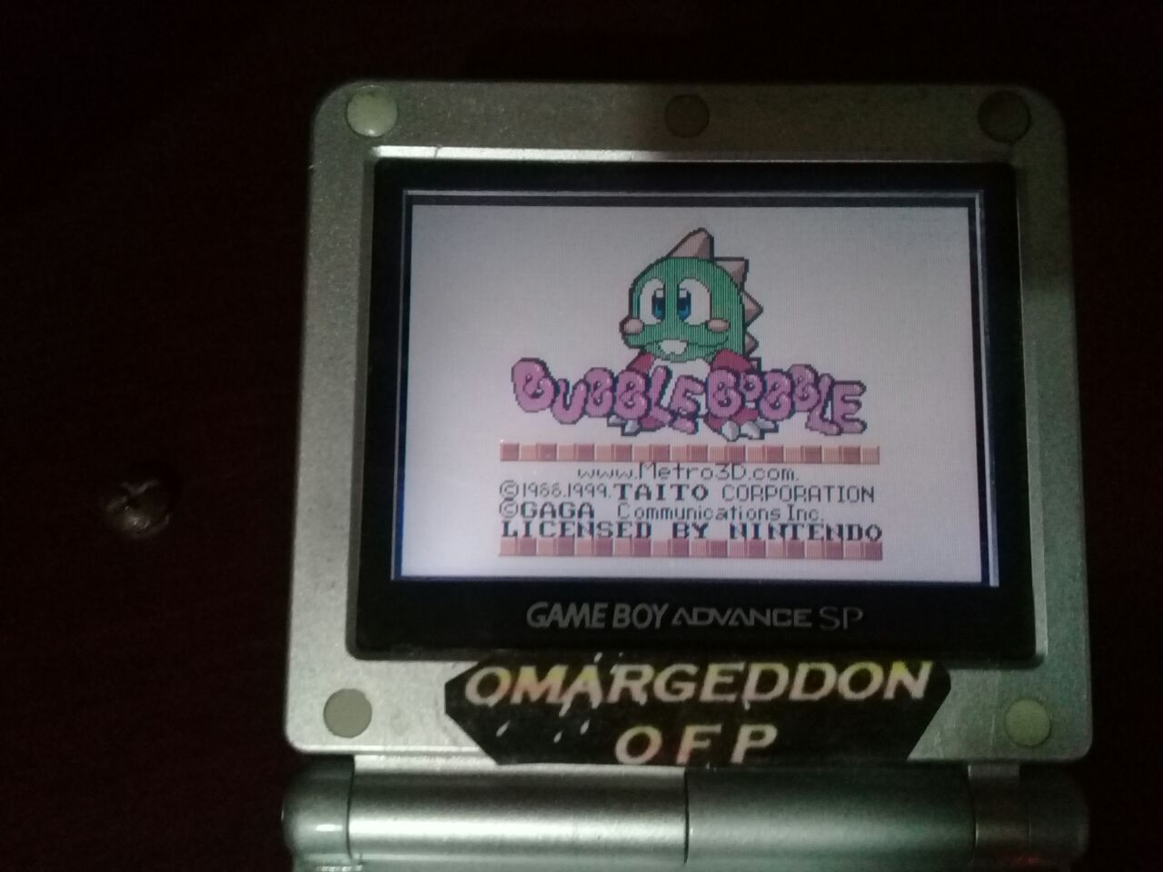omargeddon: Bubble Bobble (Game Boy Color) 45,070 points on 2018-01-07 21:40:04