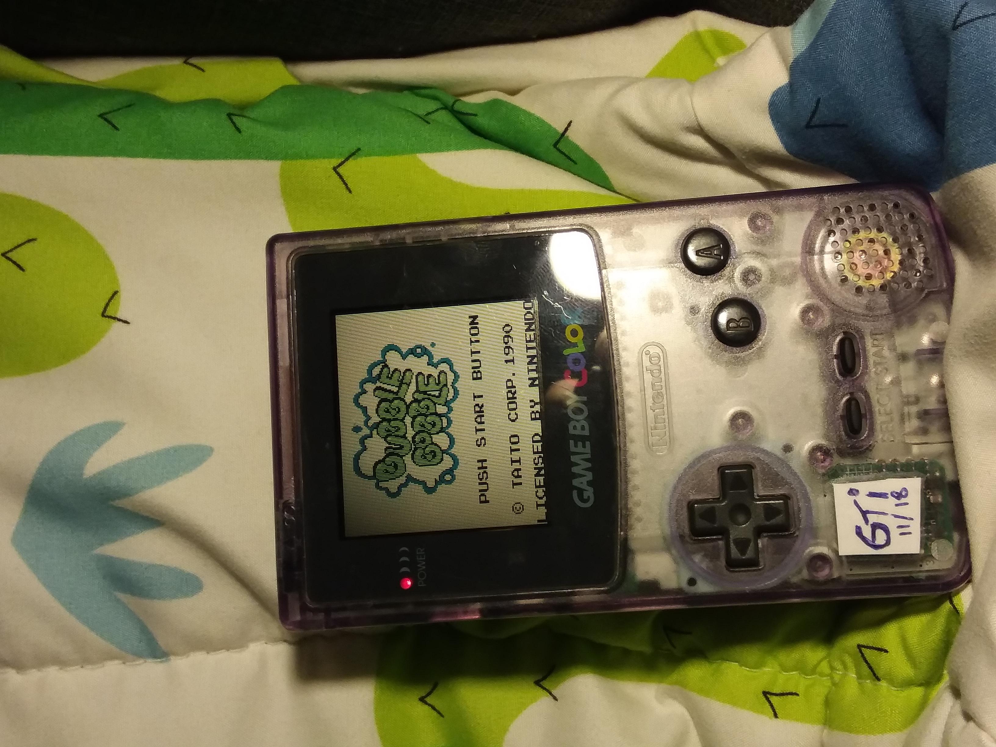 GTibel: Bubble Bobble (Game Boy) 308,190 points on 2018-11-25 11:28:42