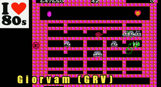 Giorvam: Bubble Bobble (MSX Emulated) 647,680 points on 2018-01-12 12:20:03