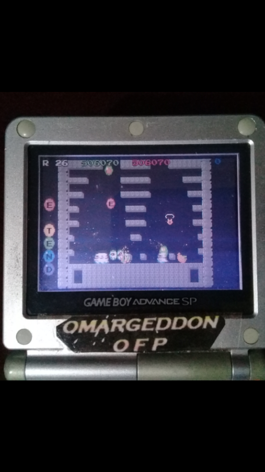 omargeddon: Bubble Bobble: Old (GBA) 506,070 points on 2019-09-16 08:55:59