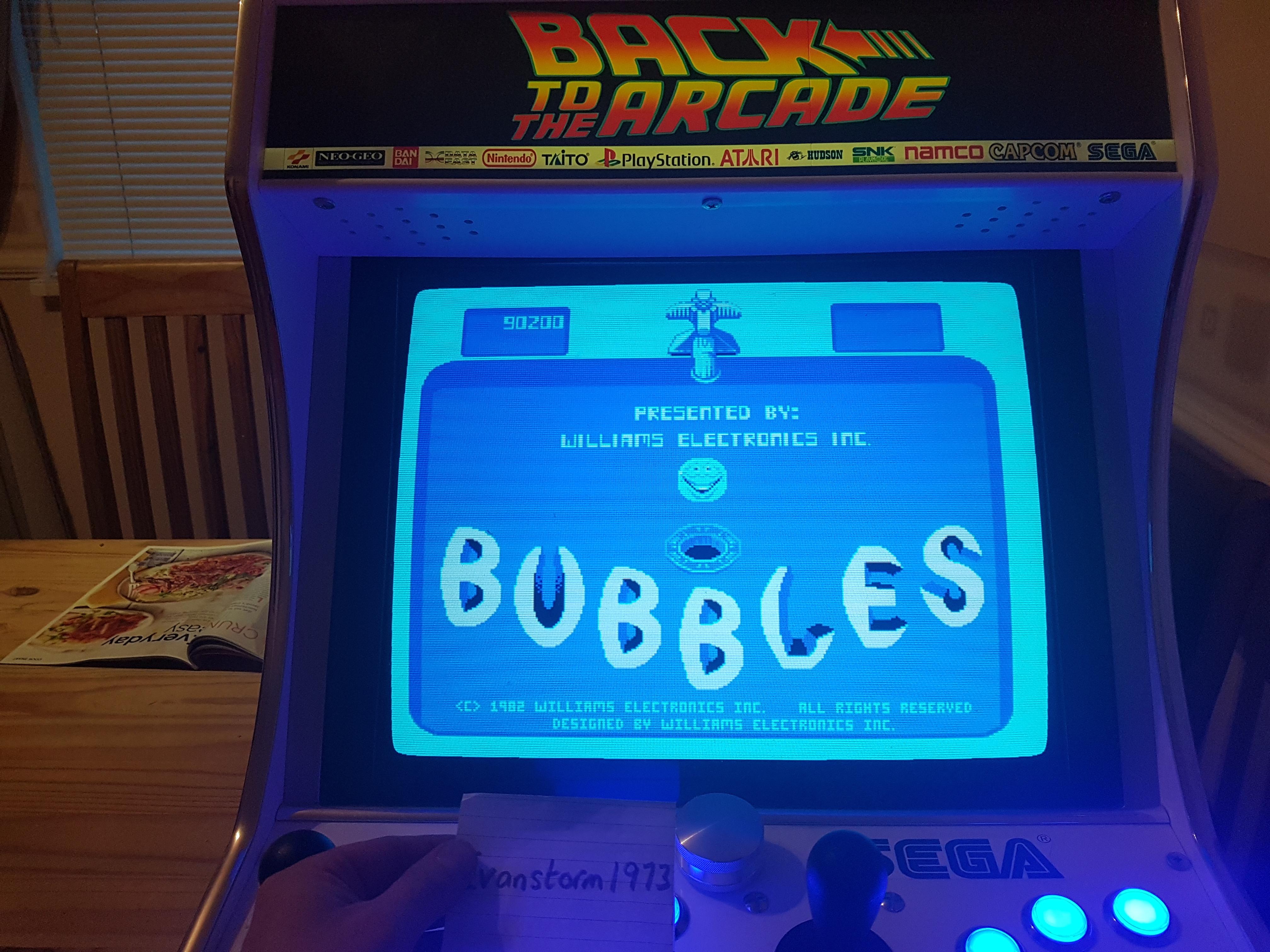 Bubbles 90,200 points
