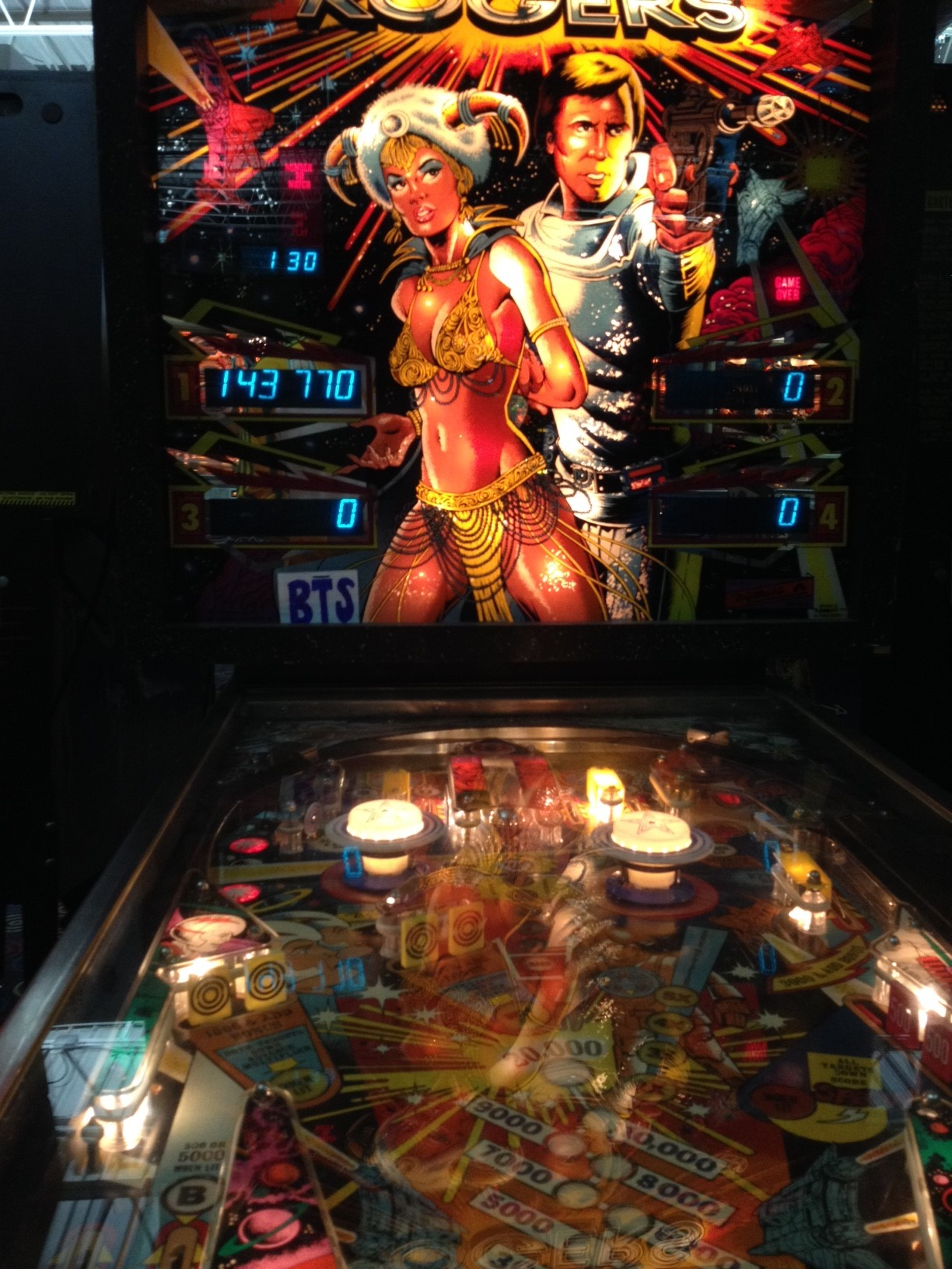 bensweeneyonbass: Buck Rogers (Pinball: 3 Balls) 143,770 points on 2016-03-21 09:05:02
