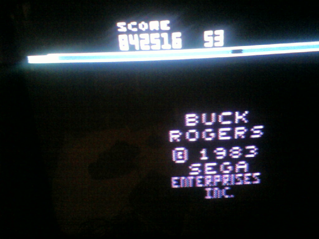 MrVCS: Buck Rogers: Planet of Zoom (Atari 2600 Novice/B) 842,516 points on 2015-09-13 13:41:56