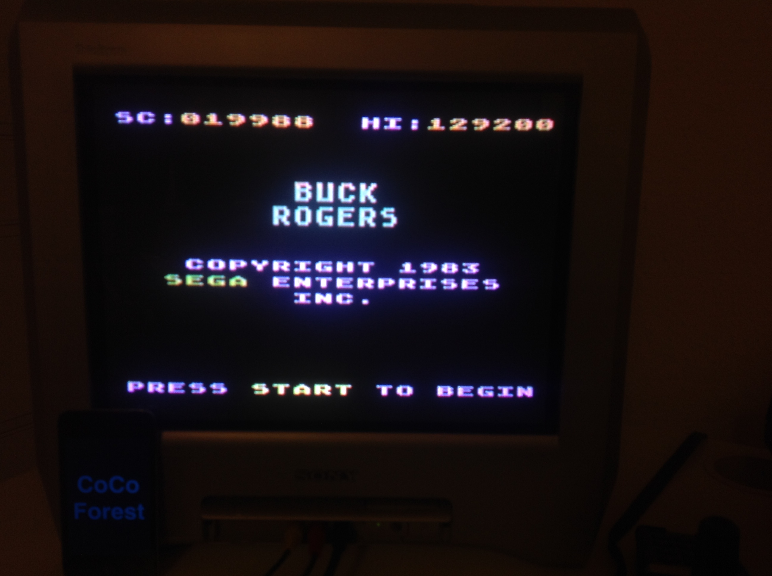 CoCoForest: Buck Rogers: Planet of Zoom (Atari 5200) 129,200 points on 2015-11-08 10:59:42