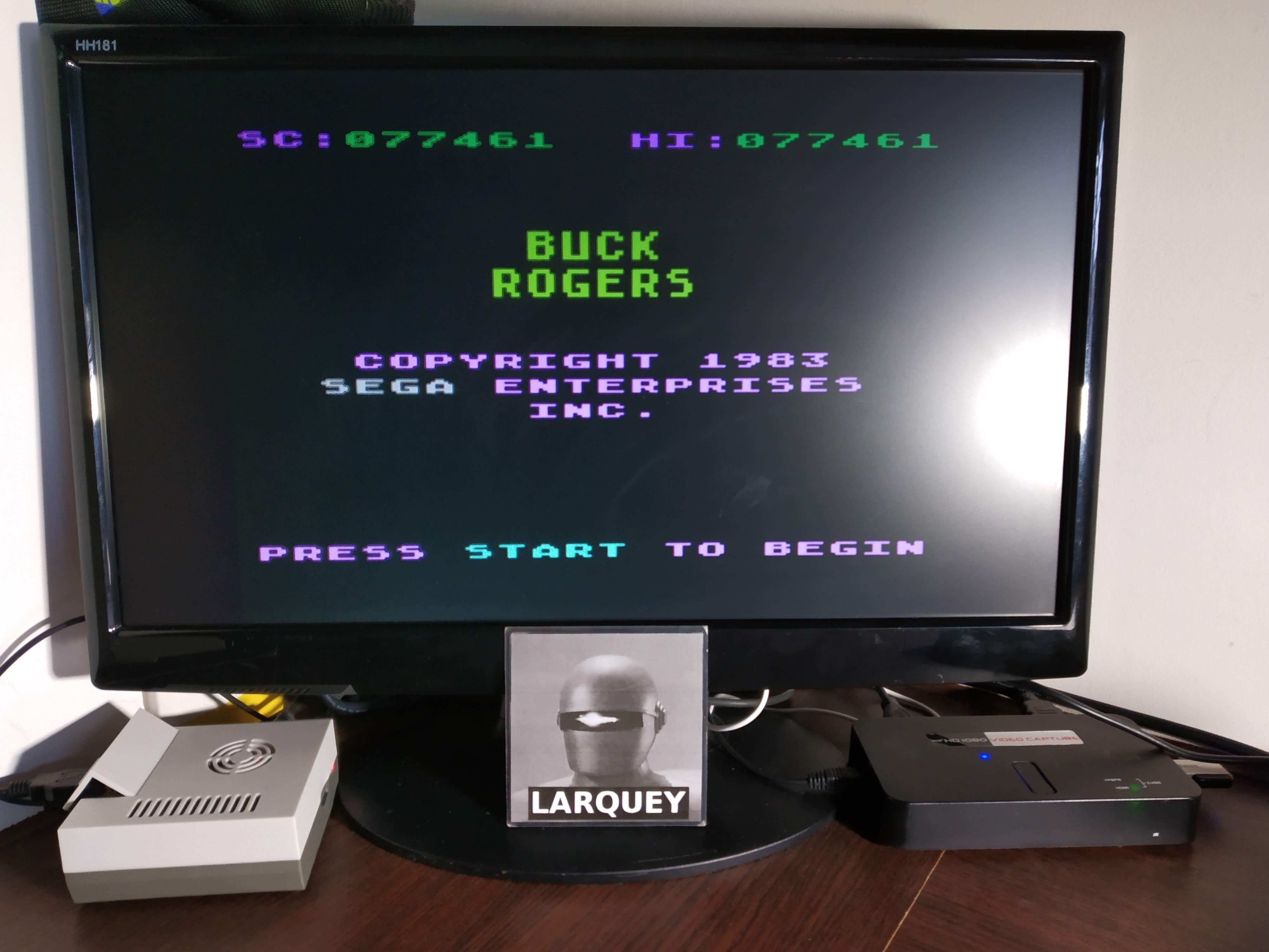 Larquey: Buck Rogers: Planet of Zoom (Atari 5200 Emulated) 77,461 points on 2019-11-09 07:53:43