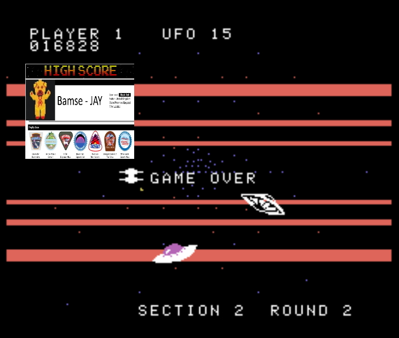Bamse: Buck Rogers: Planet of Zoom (Colecovision Emulated) 16,828 points on 2019-11-17 17:14:01