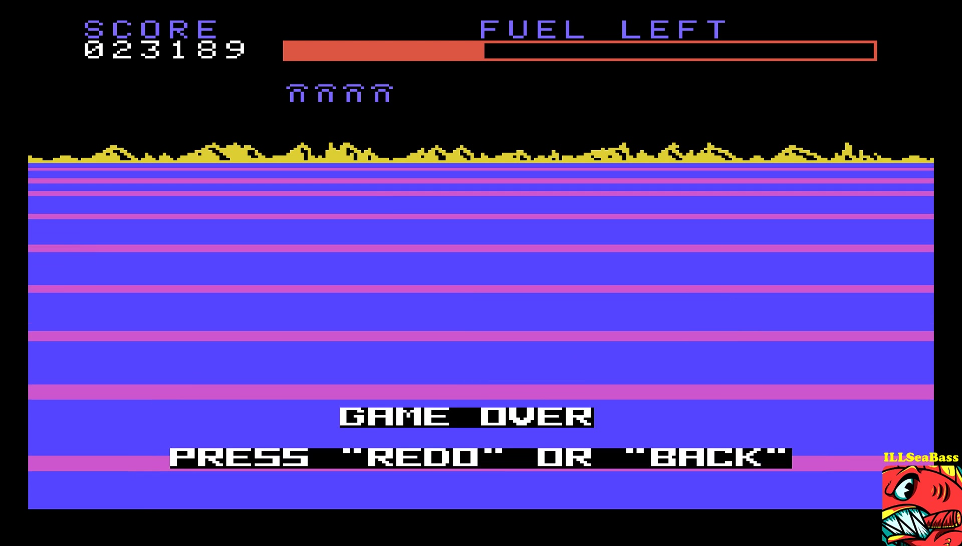 ILLSeaBass: Buck Rogers (TI 99/4A Emulated) 23,189 points on 2017-05-03 23:45:12