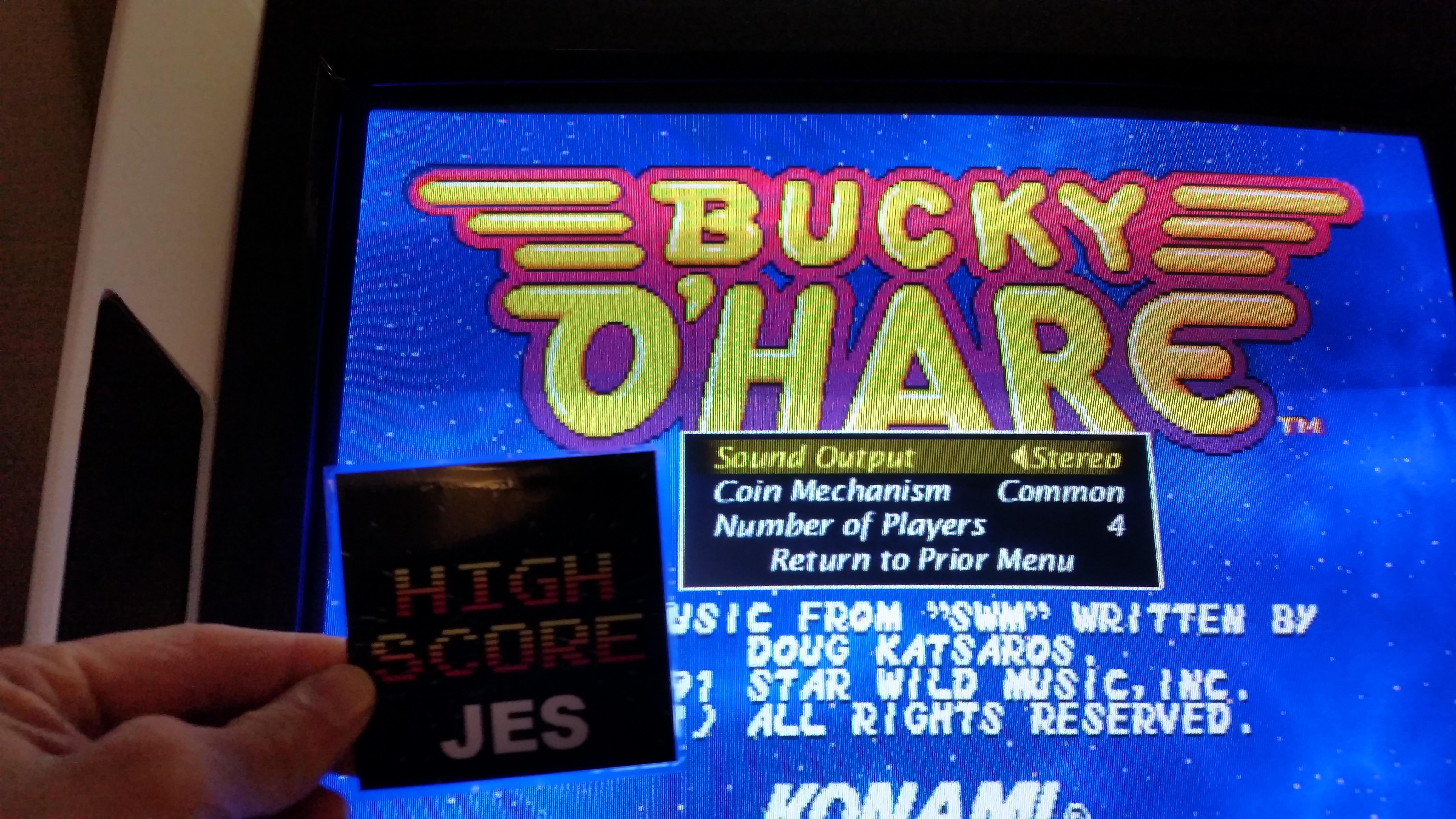 JES: Bucky O