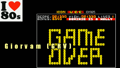 Giorvam: Bug Eyes (BBC Micro Emulated) 21,330 points on 2018-01-20 12:04:52
