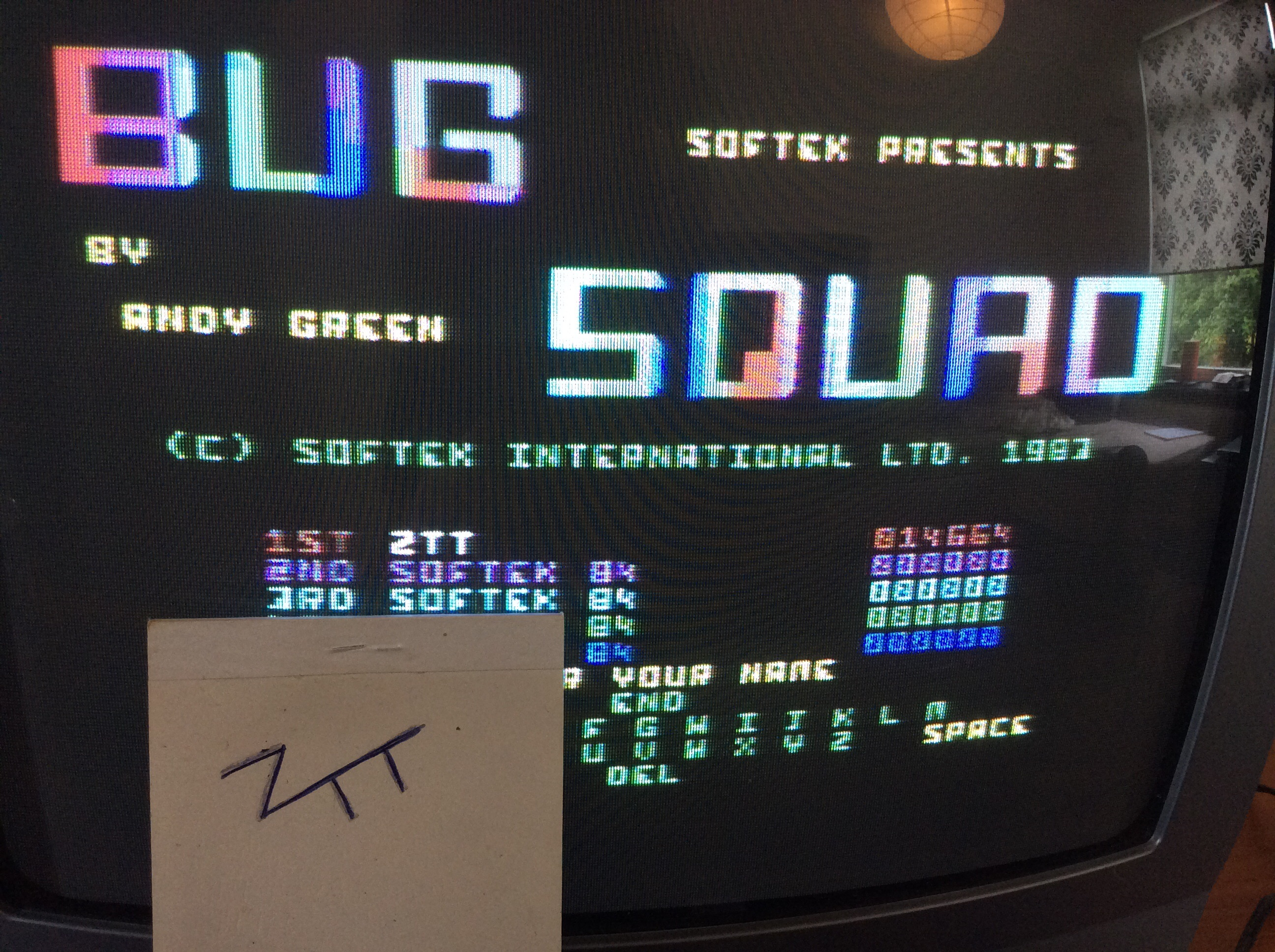 Frankie: Bug Squad (Commodore 64) 14,664 points on 2016-06-25 18:52:55