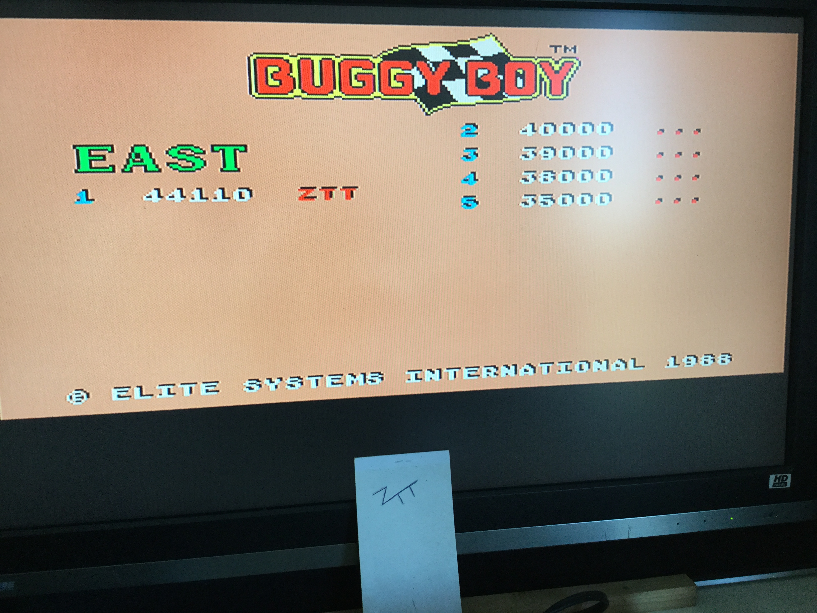 Buggy Boy [East] 44,110 points