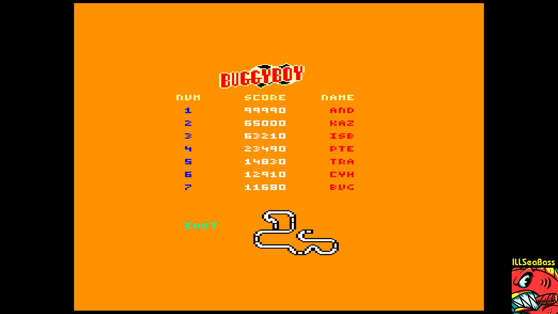 ILLSeaBass: Buggy Boy [East] (Amstrad CPC Emulated) 63,210 points on 2017-11-06 20:22:13