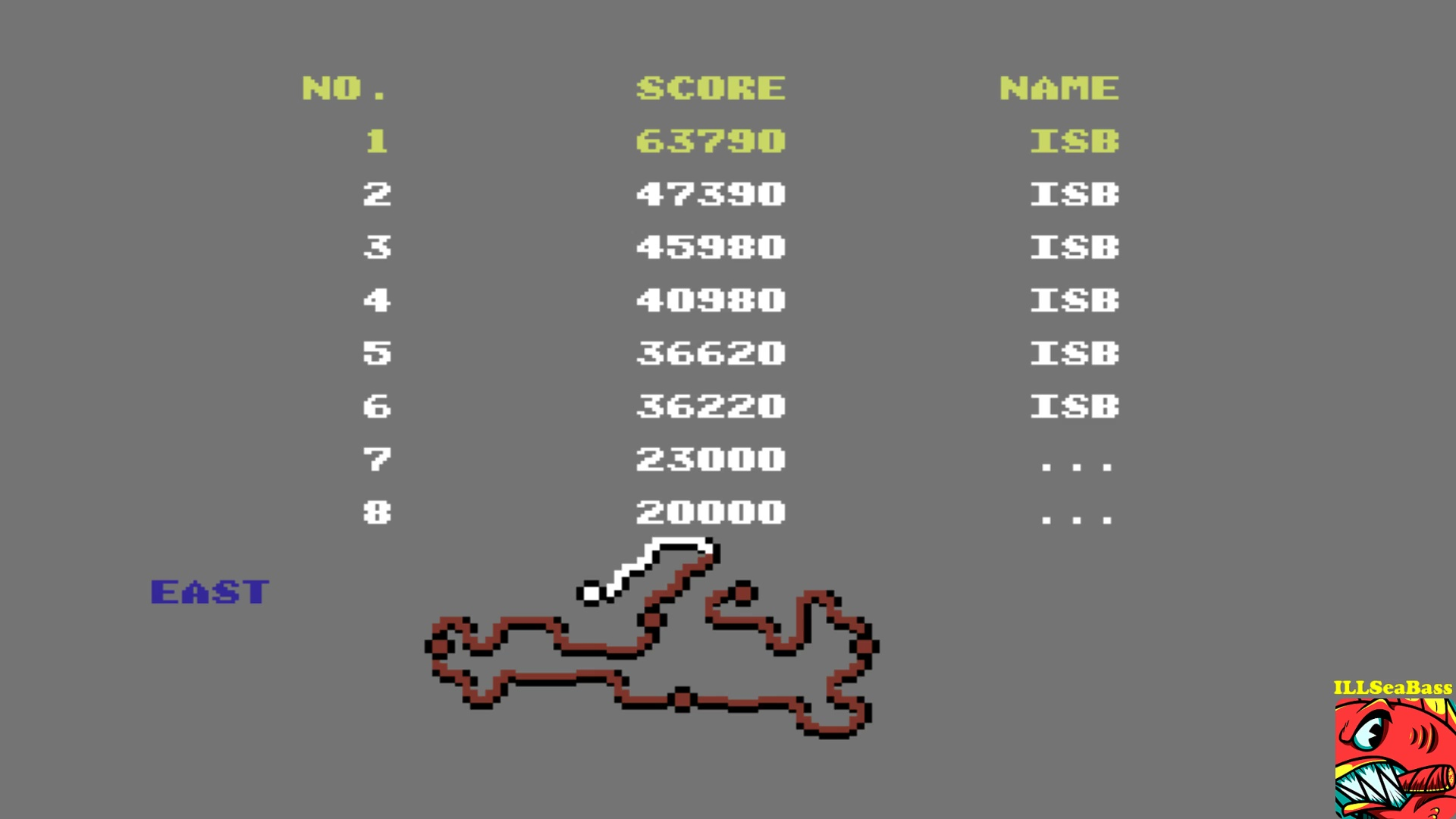 ILLSeaBass: Buggy Boy: East (Commodore 64 Emulated) 63,790 points on 2017-10-21 14:11:50