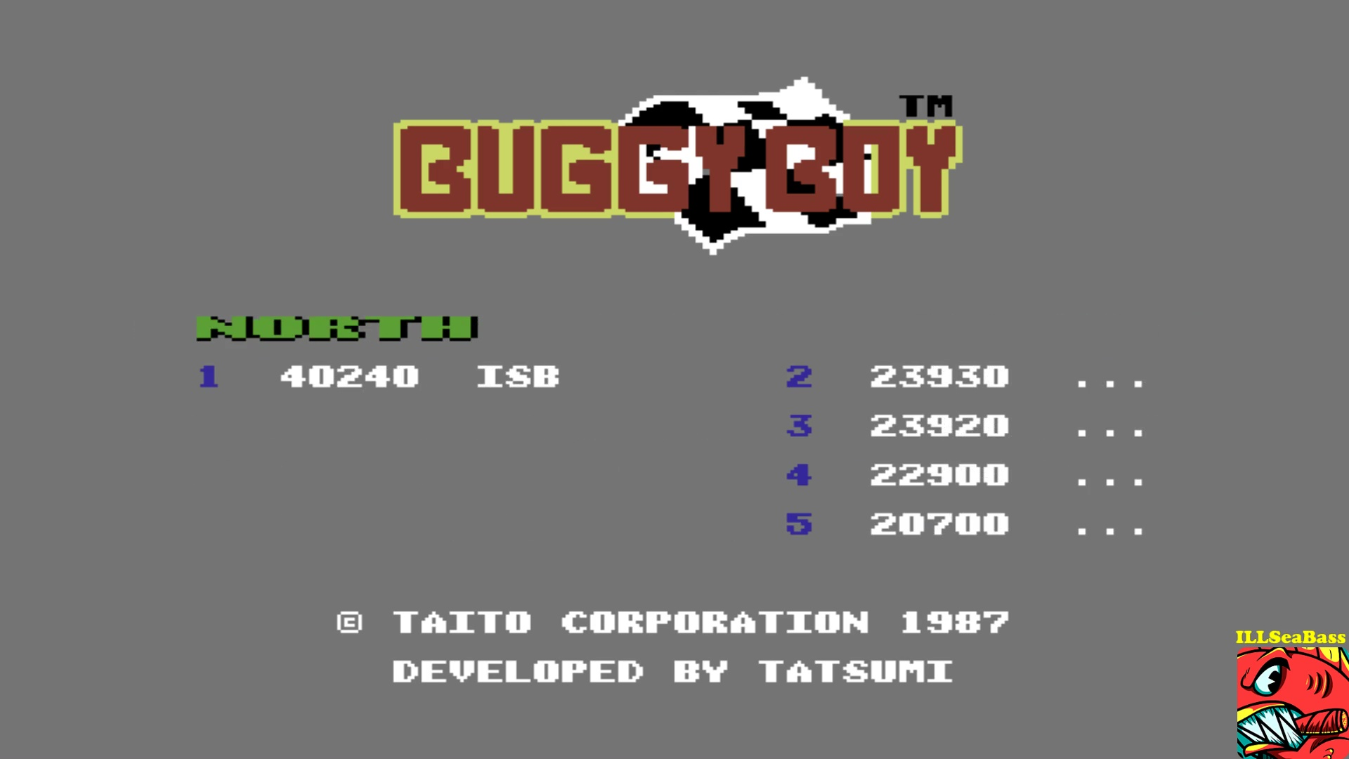 ILLSeaBass: Buggy Boy: North (Commodore 64 Emulated) 40,240 points on 2017-10-21 12:13:30