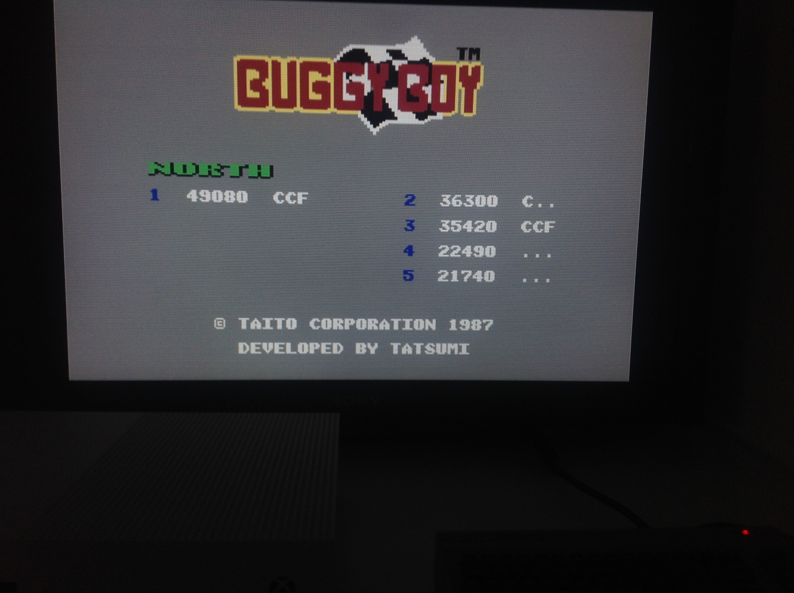 CoCoForest: Buggy Boy: North (Commodore 64 Emulated) 49,080 points on 2018-04-24 11:34:57