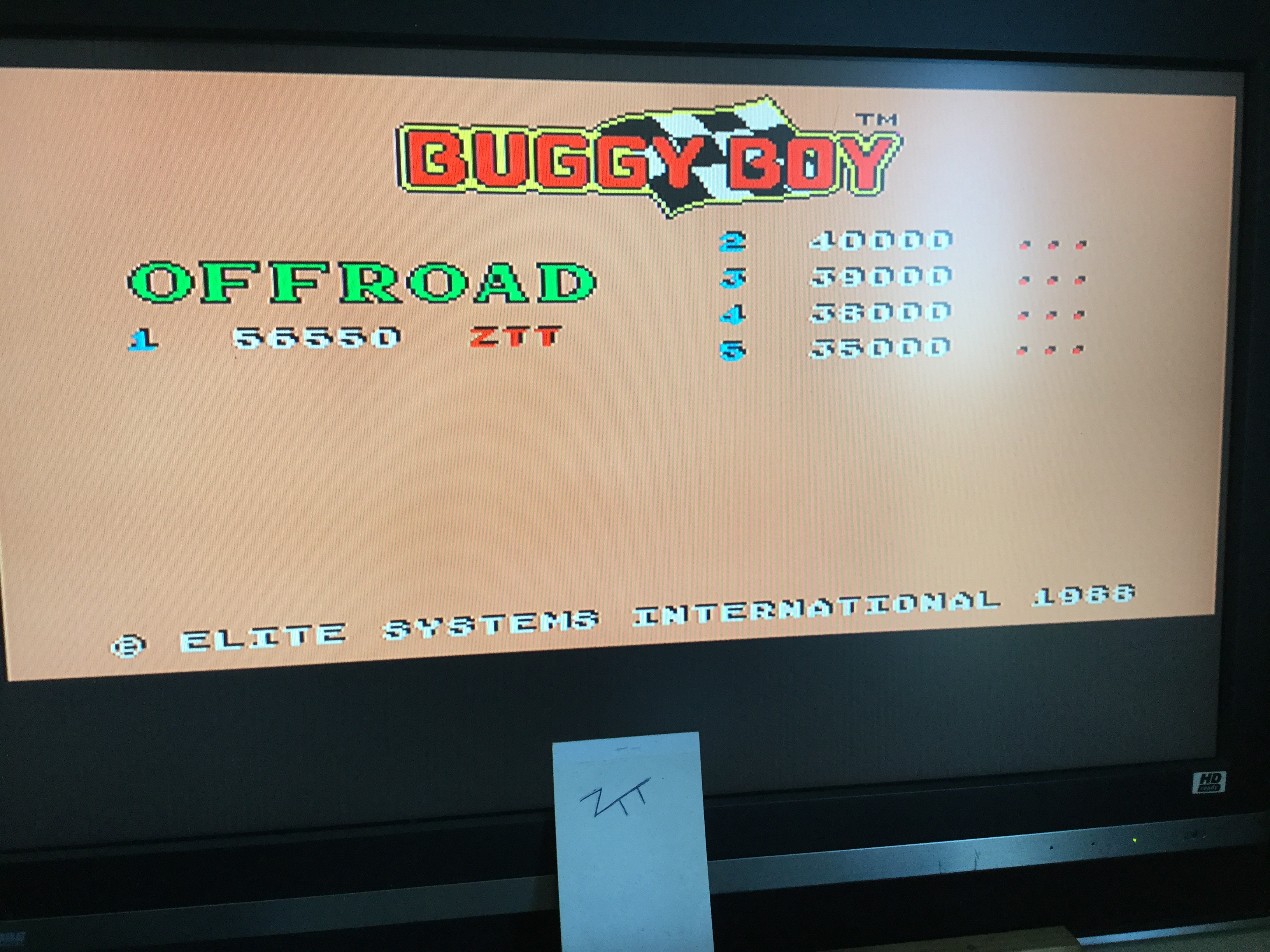 Buggy Boy [Offroad] 56,550 points