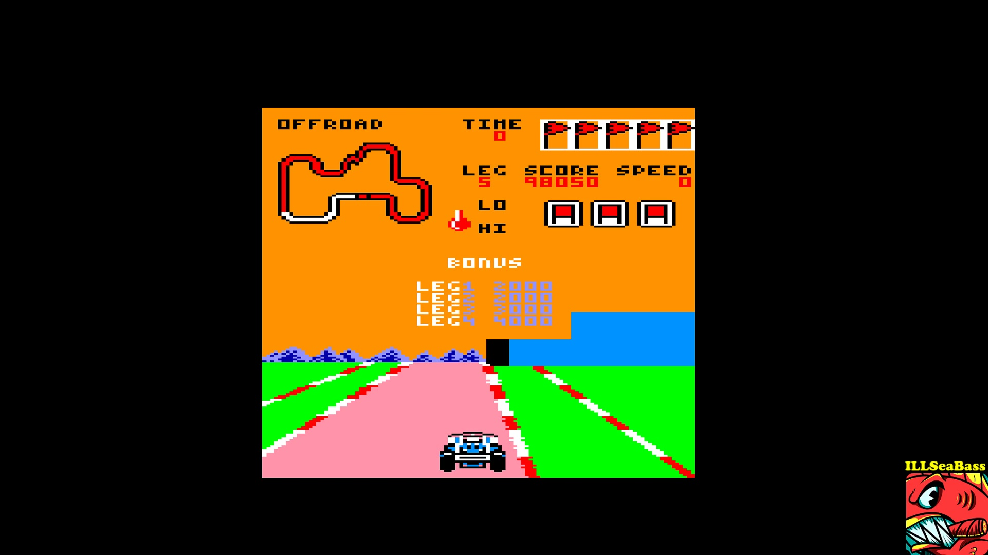 ILLSeaBass: Buggy Boy [Offroad] (Amstrad CPC Emulated) 98,050 points on 2017-10-27 20:01:31